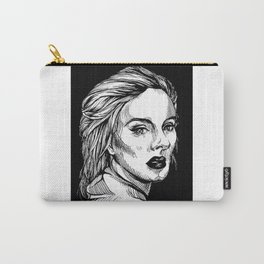 Woodcut Illustration Carry-All Pouch
