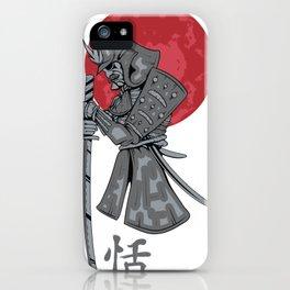 Japanese Samurai Warrior iPhone Case