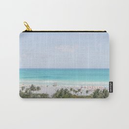 South Beach Miami  Carry-All Pouch
