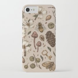 Nature Walks (Light Background) iPhone Case