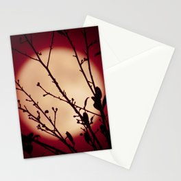 Red Red Moon Wine Stationery Cards