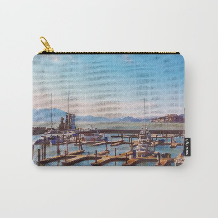 Waiting in The Bay Carry-All Pouch
