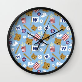 2016 World Series Champs Wall Clock