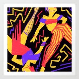 Dance! Art Print