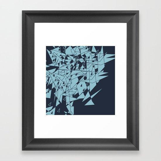 Glass DB Framed Art Print