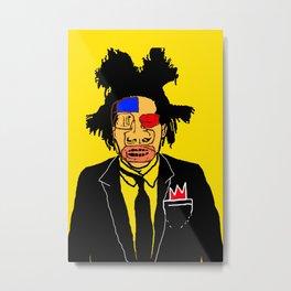 Jean Michelle Basquiat Metal Print