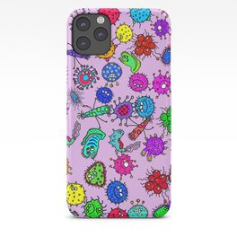 Bacteria Background iPhone Case