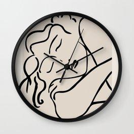 THE SLEEPING WOMEN- Henri Mattise Wall Clock