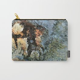 Growths on the Rocks by Geysers in Iceland Carry-All Pouch