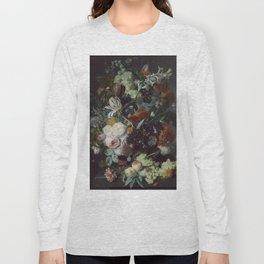 Jan van Huysum Still Life with Flowers and Fruit Long Sleeve T-shirt