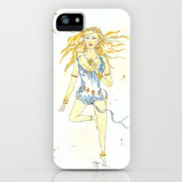 Festival Goddess iPhone Case