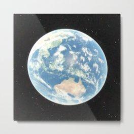 Blue Earth Metal Print