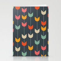 tulips Stationery Cards featuring Tulips by Tracie Andrews