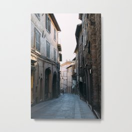 Little Alleyway Metal Print