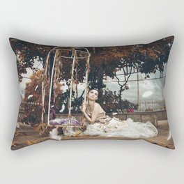 I Think It's Going To Rain Today Rectangular Pillow