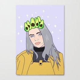 billie avocado Canvas Print