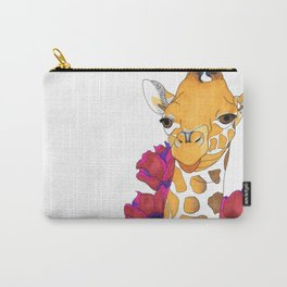 Josephine the Giraffe Carry-All Pouch