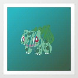bulb Art Print