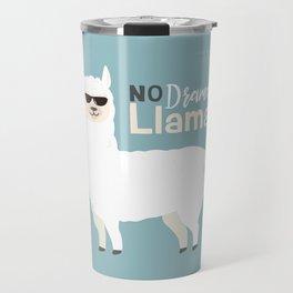 NO DRAMA LLAMA Travel Mug
