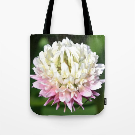 Flower | Flowers | One Clover Flower | Nature Photography | Nadia Bonello Tote Bag