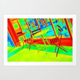 Thermal art 047 Art Print