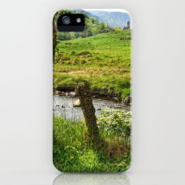 Enchanted forest Glendalough Ireland iPhone Case