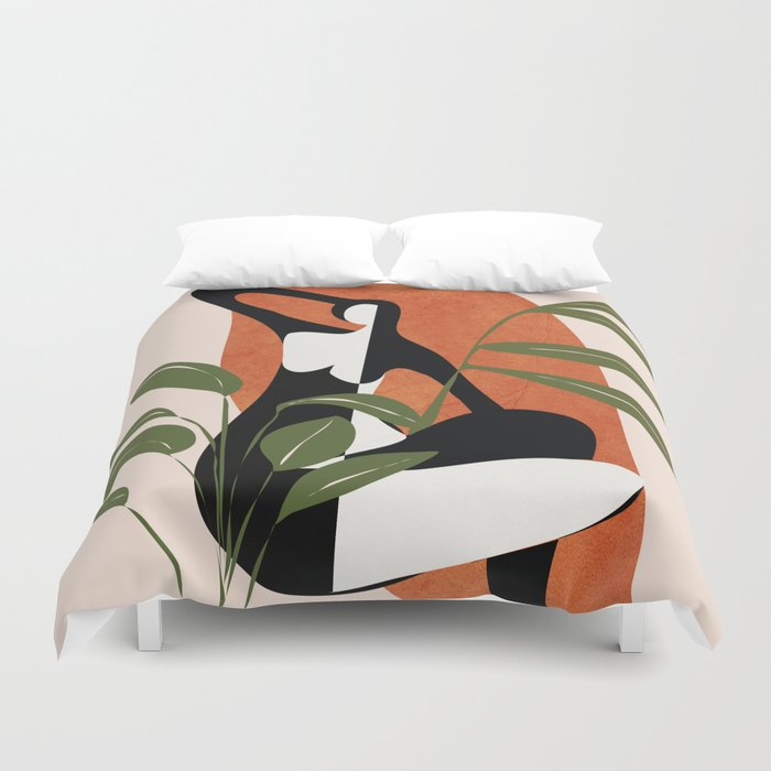 Abstract Female Figure 20 Duvet Cover