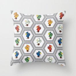 Chocobo Farm Throw Pillow