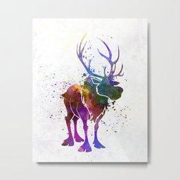 Sven in watercolor. Metal Print