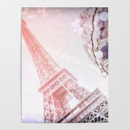 I Dream of Paris Pink Poster