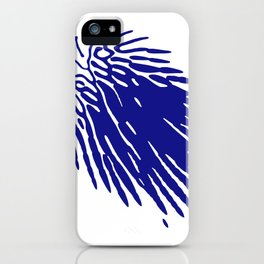Ferrofluid art series, 1st artwork out of 3 total iPhone Case