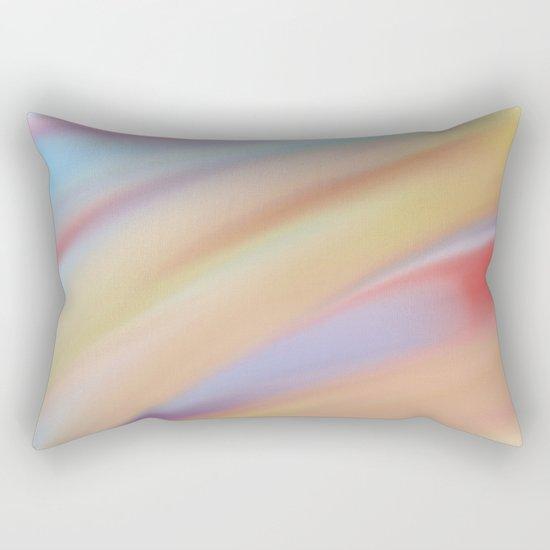 Watercolorful Flow Rectangular Pillow