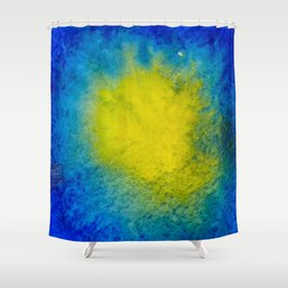 Sea Mirrors The Moon Shower Curtain
