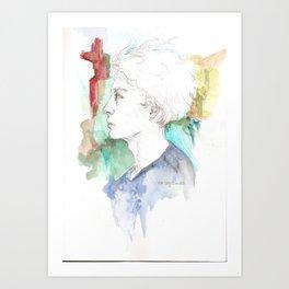 I am not afraid Art Print