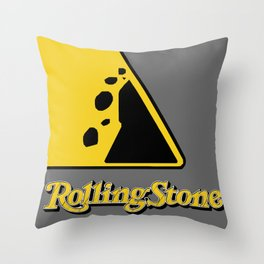 The Rolling Stone Throw Pillow