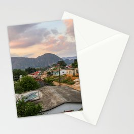 Village in Vinales Stationery Cards