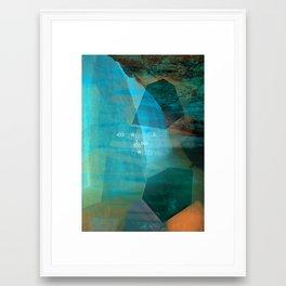 Per Chance To Dream Framed Art Print