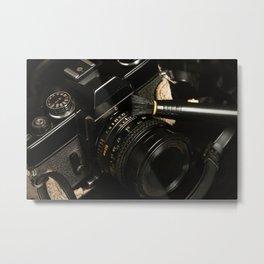 Vintage Camera 1 Metal Print