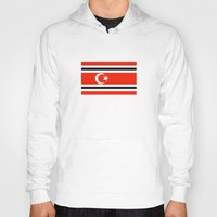 indonesia Hoodies featuring aceh indonesia ethnic flag by tony tudor