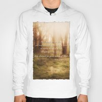 forrest gump Hoodies featuring Forrest by Terri Ellis