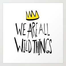 Wild Things II Art Print