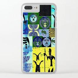 KABILA II Clear iPhone Case