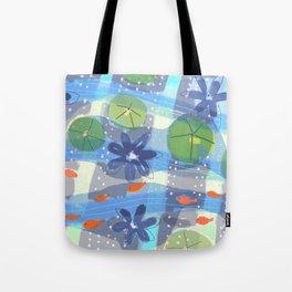 Lily Pond Life Tote Bag