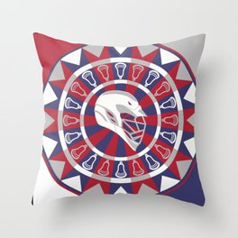 Lacrosse Shakey Dartboard Throw Pillow