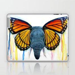 Butterfly Elephant Laptop & iPad Skin