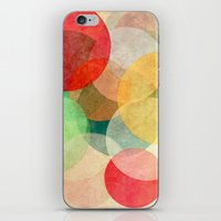 georgiana paraschiv iPhone & iPod Skins featuring The Round Ones by Anai Greog