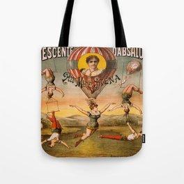 Vintage poster - Descente D'absalon Tote Bag