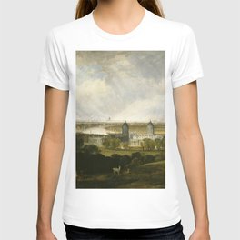 London from Greenwich Park exhibited (1809) by J.M.W. Turner T-shirt
