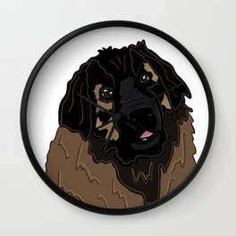 Bella the Leonberger Wall Clock