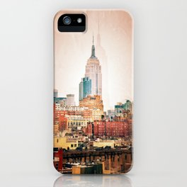 NYC Vintage style iPhone Case
